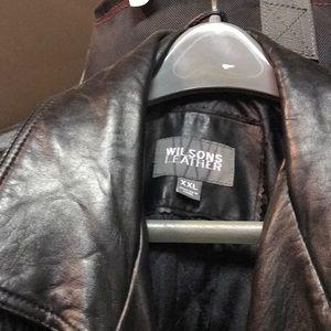 Wilson's leather jacket XXL. Worn 6 times.